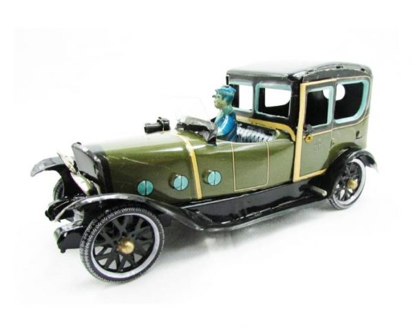 coche verde chofer paya