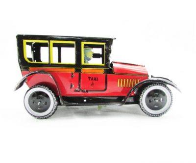 taxi antiguo rojo paya
