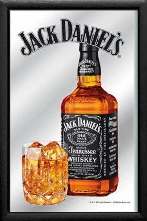espejo botella jack daniels