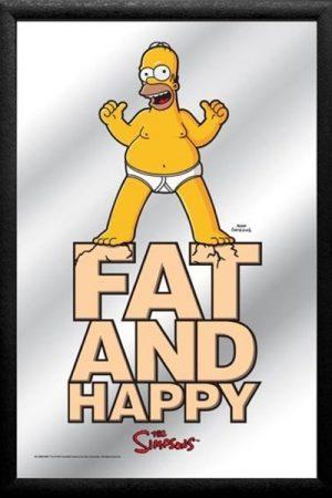 espejo homer simpson