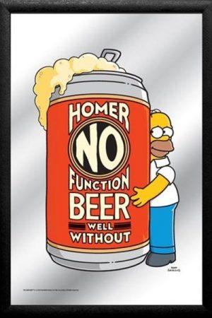 espejo homer cerveza