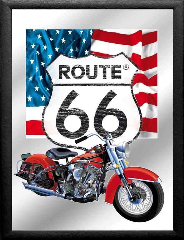 espejo ruta 66 moto