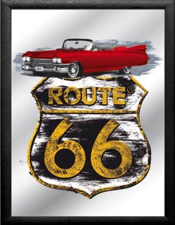 espejo ruta 66 coche