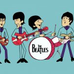 the beatles dibujos