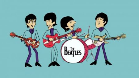 the beatles dibujos