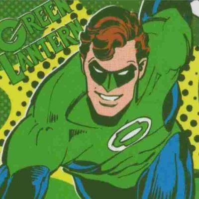 poster linterna verde