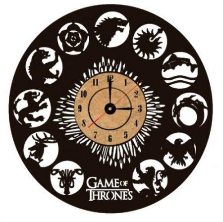 reloj de pared juego de tronos