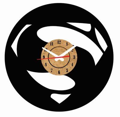 reloj de pared superman