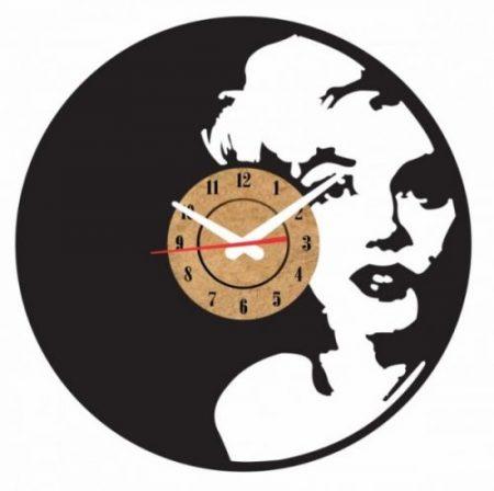 reloj vinilo pared marilyn monroe