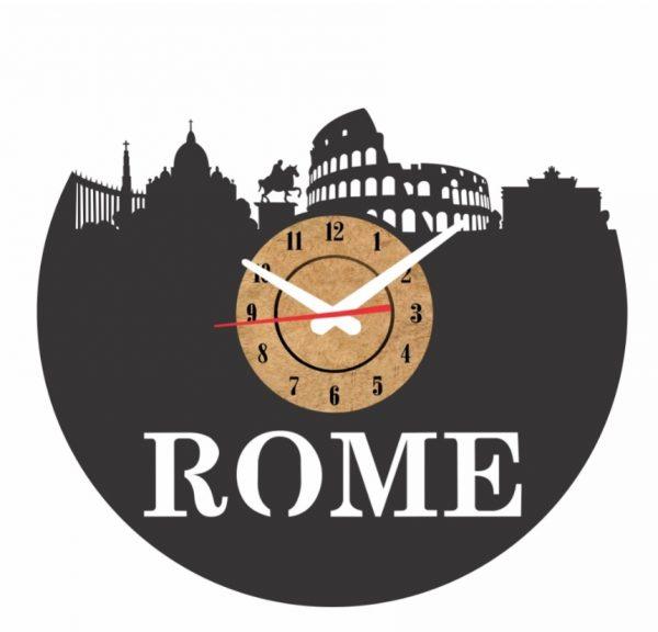 reloj pared vinilo roma italia