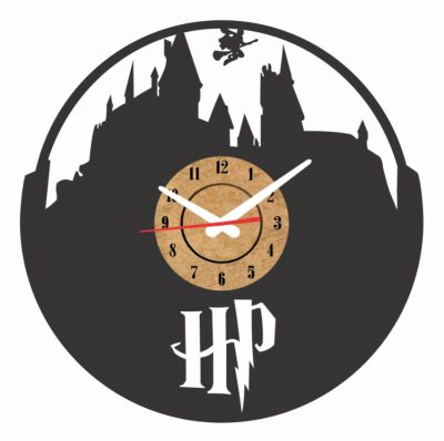 reloj pared harry potter