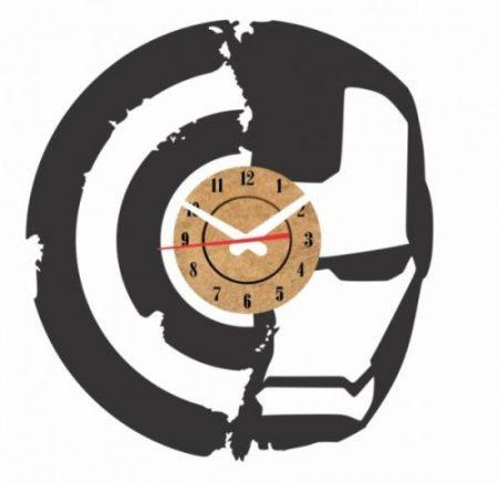 reloj pared vinilo ironman