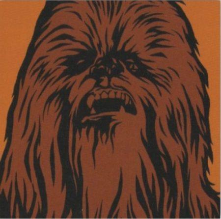 cuadro star wars chewbacca