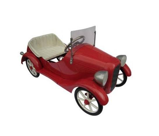 coche pedales niño lujo