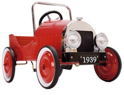 coche antiguo pedales niño 2-5 años