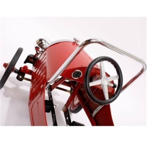coche pedales niño rojo