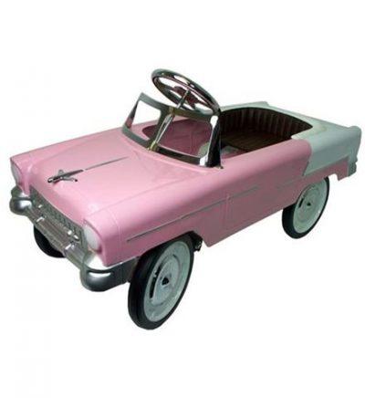 coche pedales clasico rosa niño 2 años