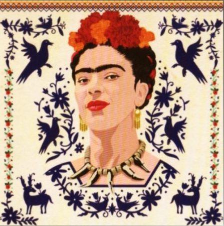 autoretrato cuadro frida khalo