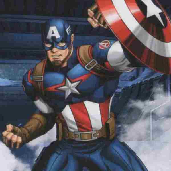 lamina de capitan america