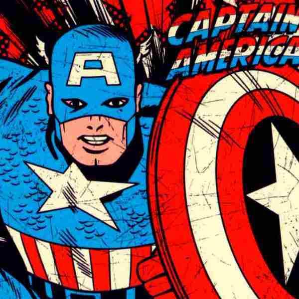 lamina de capitan america escudo