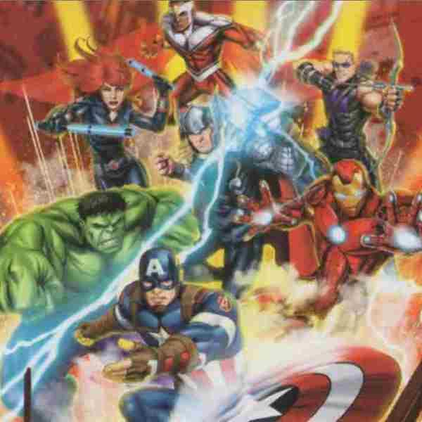 lamina de superheroes de marvel