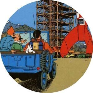 Cuadros de Tintin