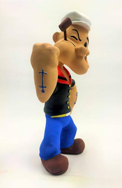figura popeye dibujos animados
