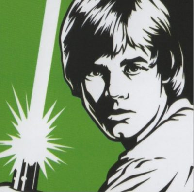 poster luke skywalker