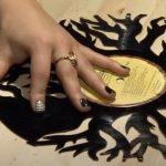 como hacer un reloj disco vinilo